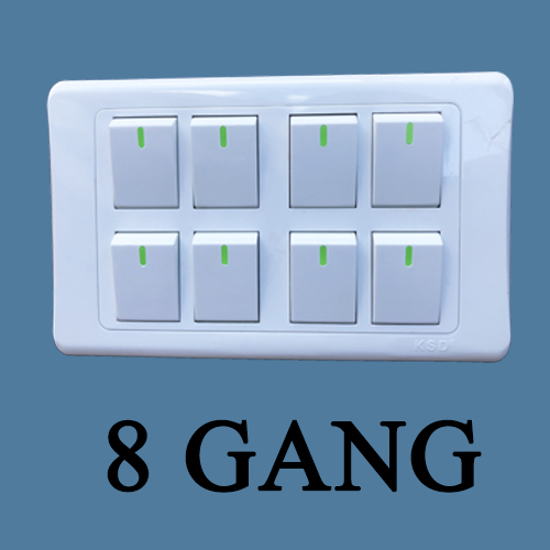 8 GANG SWITCH