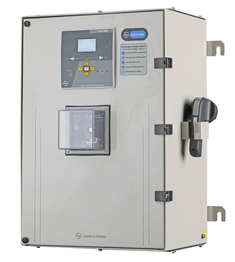ENCLOSED AUTOMATIC TRANSFER SWITCH