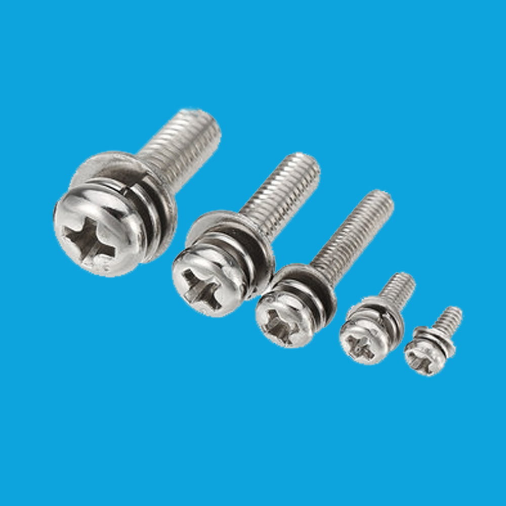Steel Phillips Pan Head Screws